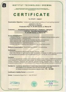 certyfikat ippc 2017